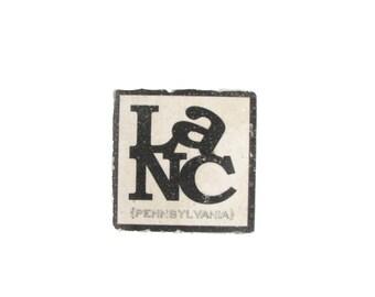 White LaNC Tile