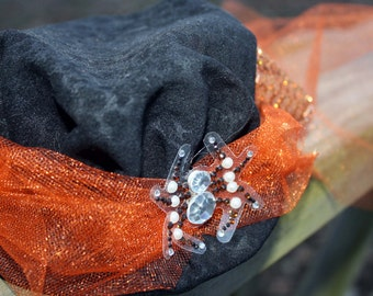 Steampunk Mini Hat Fascinator- Halloween