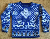 Five Year Viking Ship Sweater