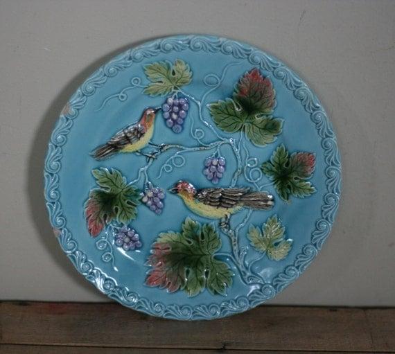 Vintage Bird Plates 32