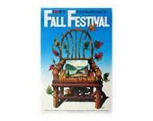 """Milton Glaser """"Fall Festival"""" poster, 1983."""