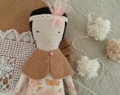 Cloth Doll - Pearl by moose & bird