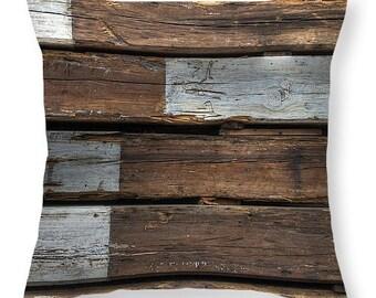 Pillow, throw pillow, home decor, industrial pillow, rustic pillow, pillowcase, pillowcover, zen pillow, log cabin pillow, log cabin
