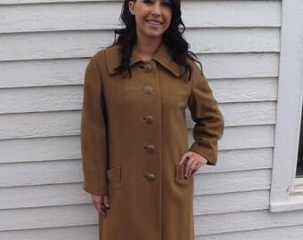 Vintage cashmere coat | Etsy
