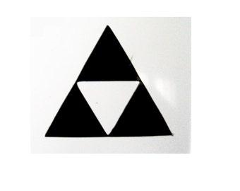 Legend of Zelda triforce decal