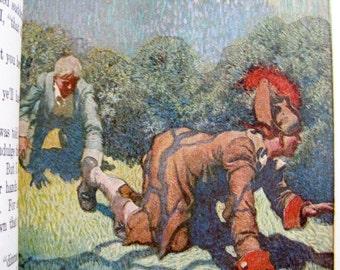KIDNAPPED by Robert Louis Stevenson1925 Children's Classic Novel VINTAGE
