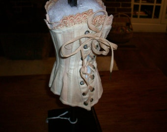 Antique doll's corset in near perfect condition