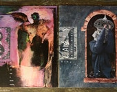 Cages by Dave McKean Mc Kean n. 3 and 4 graphic novel - rare original 1991 English edition Tundra publishing