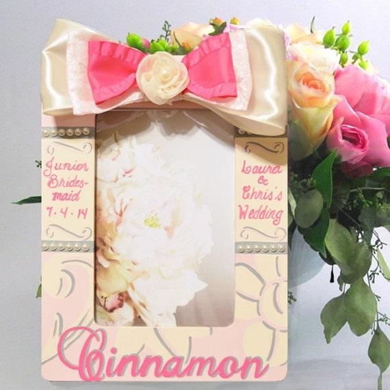 Flower Girl Personalized Gift Frame