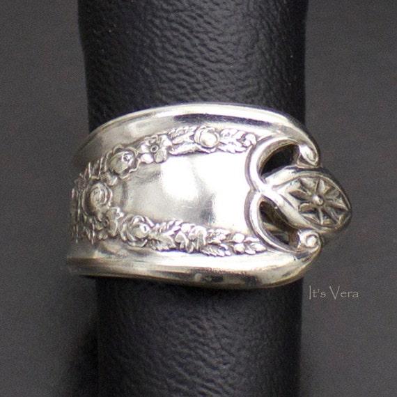 unisex ring l ffelbesteck ring silberbesteck schmuck von. Black Bedroom Furniture Sets. Home Design Ideas