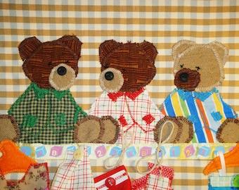 Teddy bears for kids room! Size 17x21