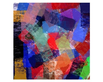 """ABSTRACT ART - Large Canvas Print up to 42"""" x 42"""""""