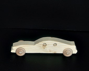 Birthday Party Pack 20 Handcrafted Wood Toy Cars BP-52AH-U unfinished or finished
