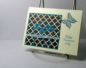 Valentines Day Card Handmade Valentine Butterfly
