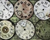 Eclectic Elements Timepieces - Coats and Clark Fabric - Fat Quarter
