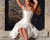 Eos Gown//getconscious, hemp wedding dress,hemp wedding gown
