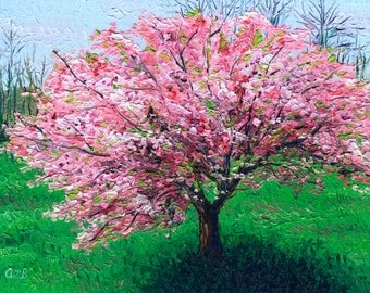 Giclee print, Apple Tree I, 9 x 12 in.
