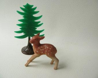 Vintage Ceramic Deer Fawn
