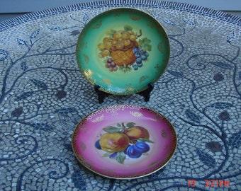 Antique Mitterteich Baravia German Porcelain Fruit China - Beautiful