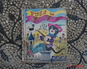 Puss and Boots - a Little Golden Book #137  A Edition 1952 -