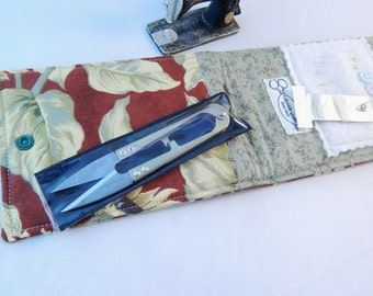Sewing Kit, Sunflower Sewing Kit, Travel Sewing Kit, Mini Sew Kit, Mending Kit, Repair Kit, Made in USA