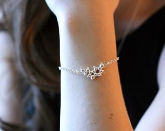 Serotonin Charm Bracelet - Sterling Silver
