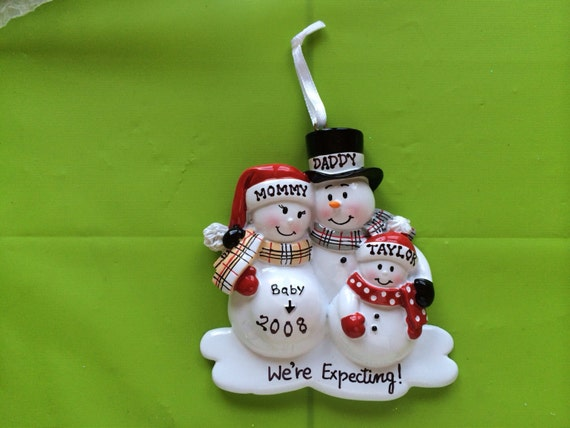 Personalized Christmas Ornament Pregnant by ...