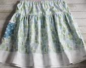 Reserved Reitz- Silent Night Twirly Skirt