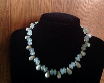 Amazonite  & Peruvian Opal Necklace