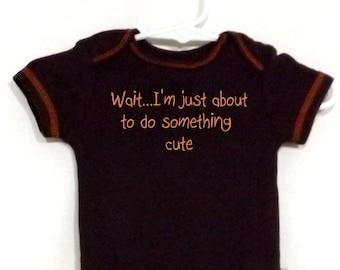 Funny Baby onesie Bodysuit Onepiece Humorous Text