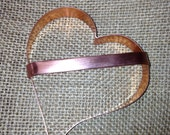 Copper Heart Cutter