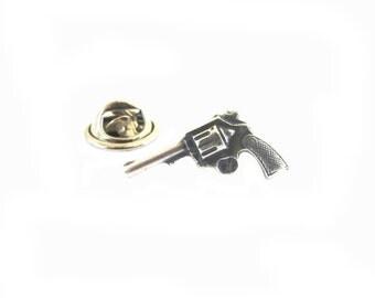 New Gun Pin Sterling Silver Ox Finish