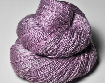 Taking a bath of roses  - Tussah Silk Lace Yarn