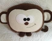 Soft Monkey Doll - Soft Monkey Plush - Monkey Plush - Plush Toy - Monkey Plushie - Stuffed Toy Monkey - kcspringclearance, on sale