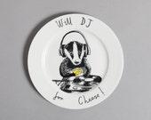 DJ Badger Side Plate