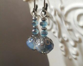 Lavinia Earrings - Downton Abbey Jewelry - Vintage Style Jewelry - Edwardian Jewelry - Titanic Jewelry - Victorian Earrings