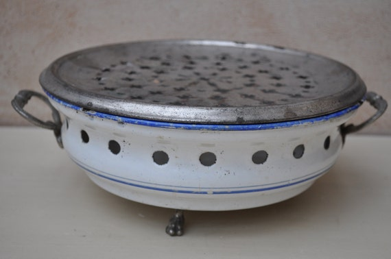 Used Plate Warmer ~ Vintage french plate warmer