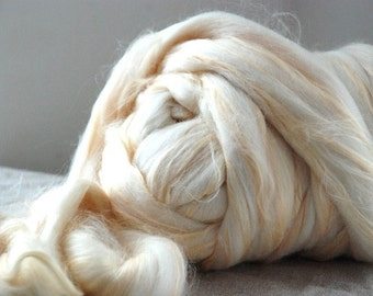 SPILL THE BEANS - Soybean and Merino 23mic roving