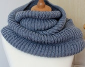 Knitting Pattern Oxford Hooded Cowl  (pdf file)