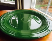 "VIntagte Fiesta Forest Green 10"" Dinner Plate"