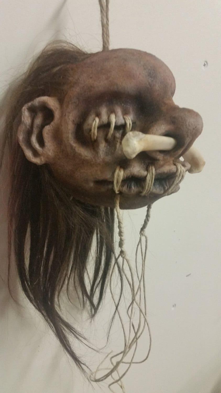how to make fake shrunken heads