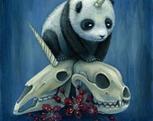 Birth of pandacorn - PRINT