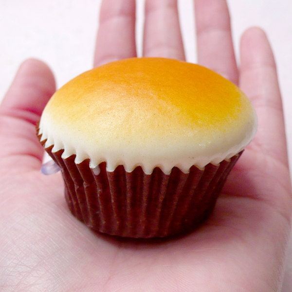 Cupcake Squishy Charm / Muffin Squishy Blank for by MiniatureSweet