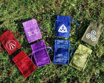 Handmade Celtic and Pagan bag
