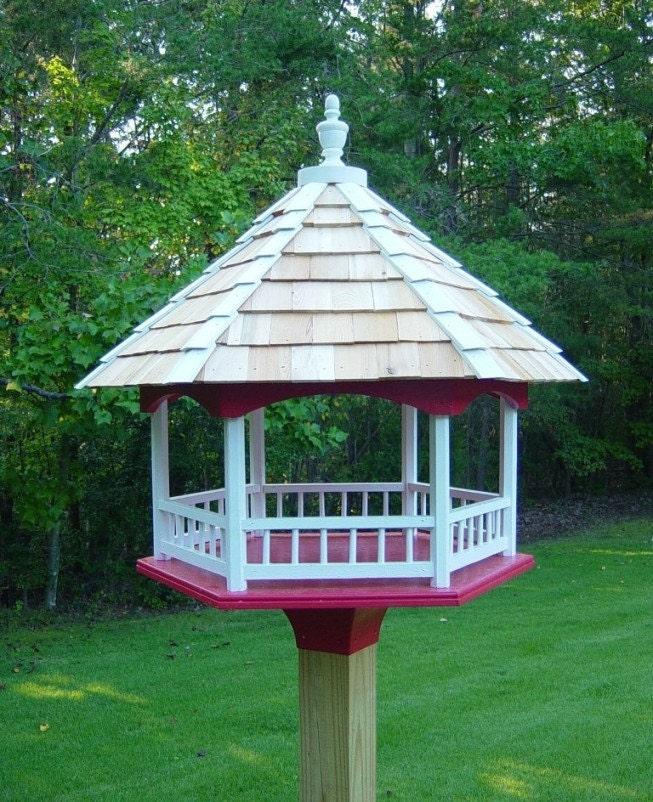 Woodworking Plans Platform Gazebo Bird Feeder Fly Through
