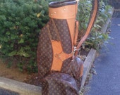 RESERVED FOR JADE Vintage Louis Vuitton Monogram Golf Bag with Cover