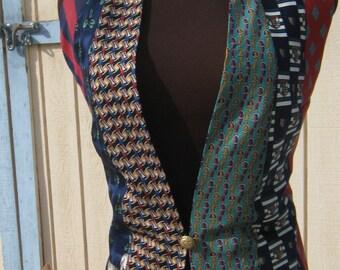 Women's Christmas Tie Vest
