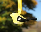 Million Birds of Hope* Goldfinch Ornament, Christmas Ornament, Bird Ornament