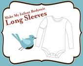 Add On - Make My Infant Bodysuit Long Sleeve