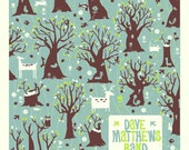 DMB Raleigh Trees numbered Screen print